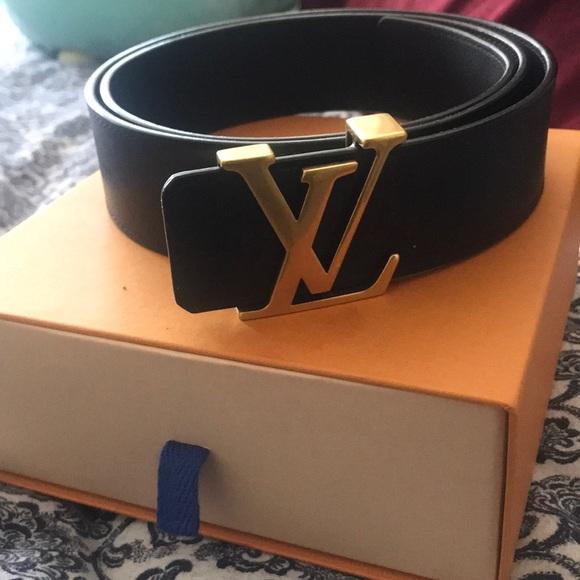 Louis Vuitton Accessories - Lv belt . Lambskin